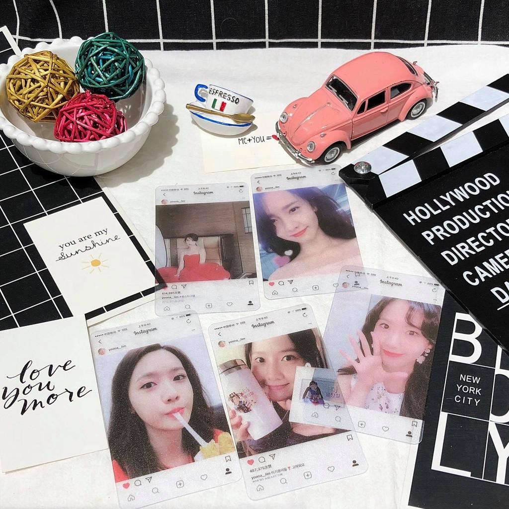 Postcard Idol Yoona