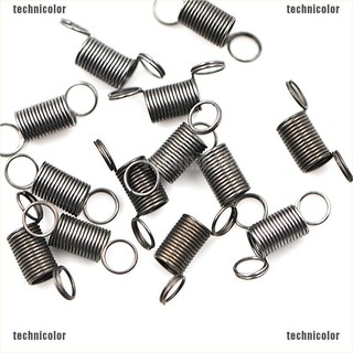 [technicolor]10pcs Metal Small Tension Spring With Hook DIY Remote Car Shock Absorber Toys