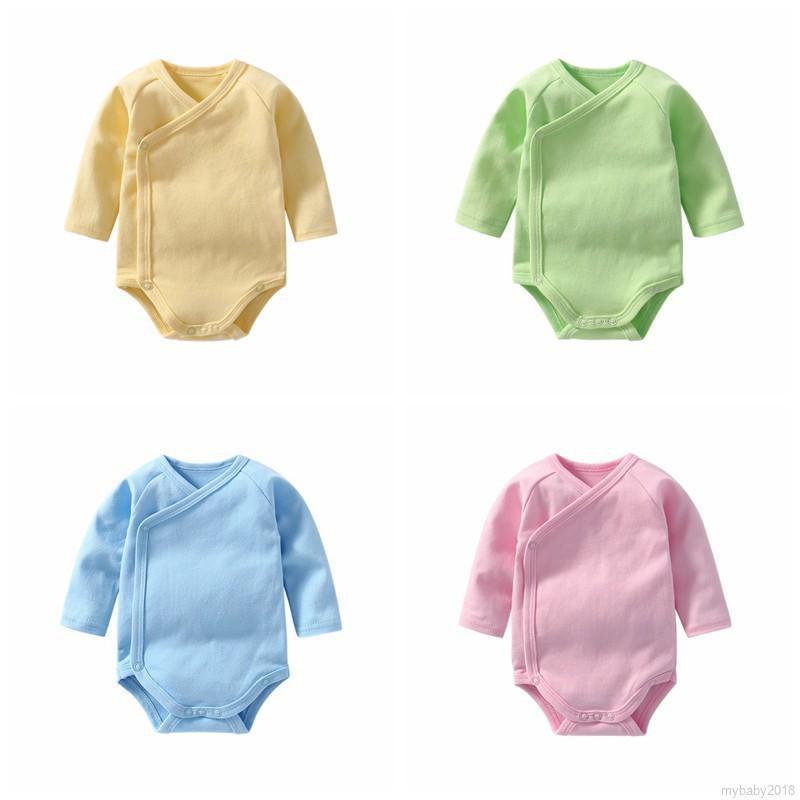 Áo liền quần tay dài cho trẻ sơ sinh
