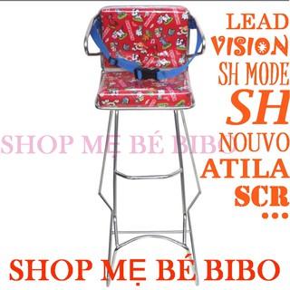 Ghế đi xe máy tay ga( Lead, Vision, Atila, Novo, Air, vespa, sh )