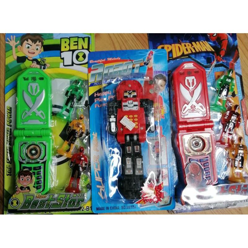 điện thoại siêu nhân ben 10, điện thoại siêu nhân gao, điện thoại siêu nhân nhện