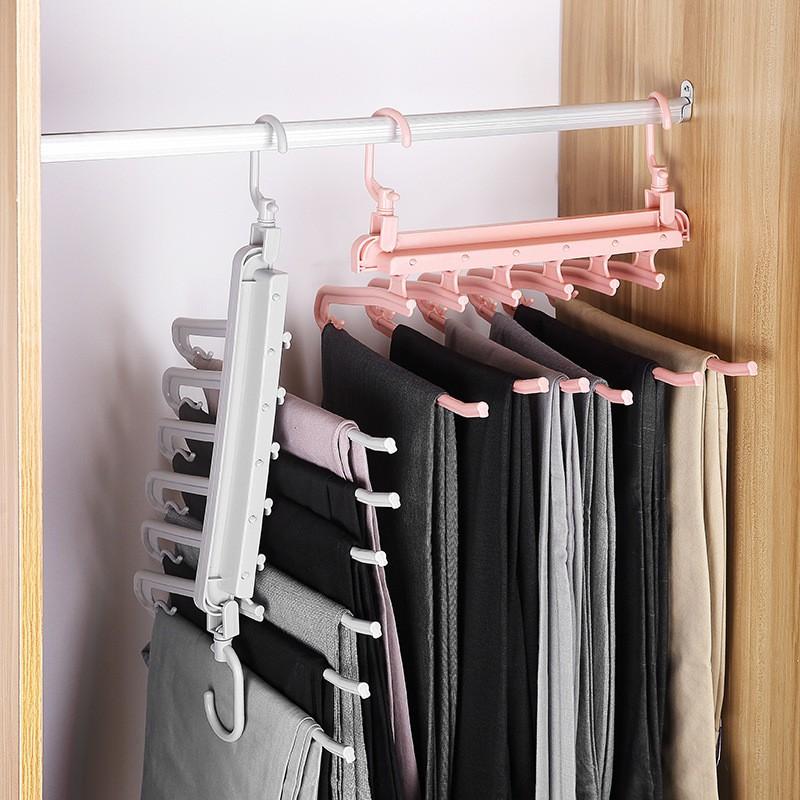 Móc treo quần áo 6 móc đa năng   Shopee Việt Nam