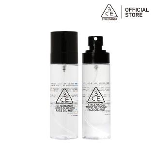Chai Xịt 3CE Moist Glossing Face Oil Mist Giữ Lớp Trang Điểm Căng Bóng 140ml