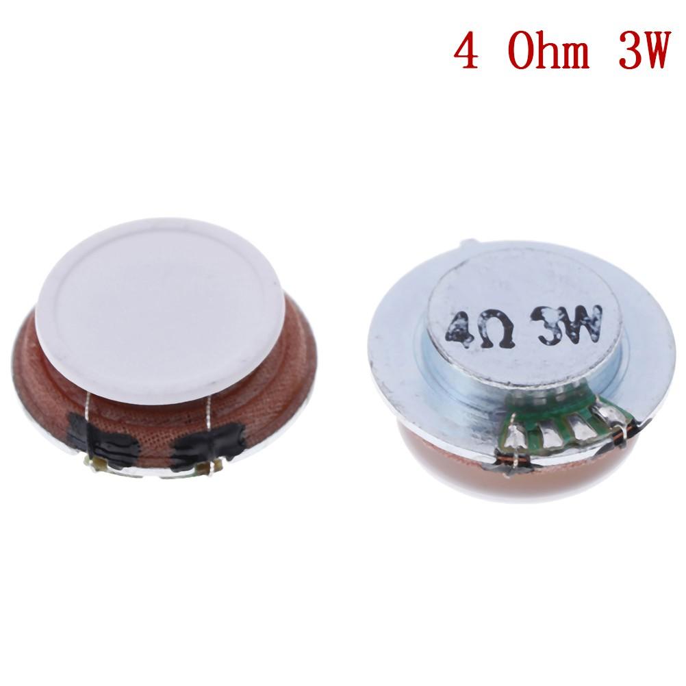 2Pcs audio speakers 35mm plane vibration speaker resonance speaker 8W 4 ohms diy