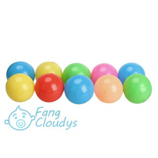 ♦[IN STOCK/COD]♦10pcs Colorful Ball Fun Ball Soft Plastic Ocean Ball