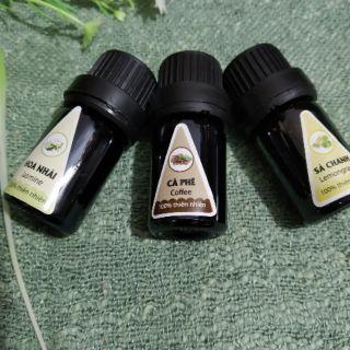 Tinh dầu thiên nhiên nguyên chất lọ 5ml xông khử mùi