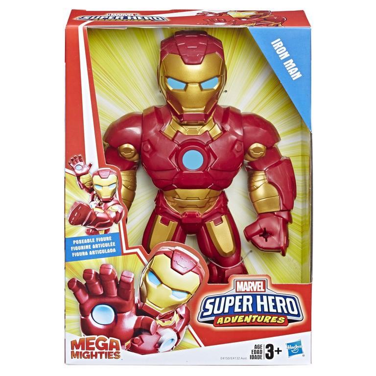 Đồ chơi siêu anh hùng Mega Mighties Playskool E4132 ( Giao ngẫu nhiên)