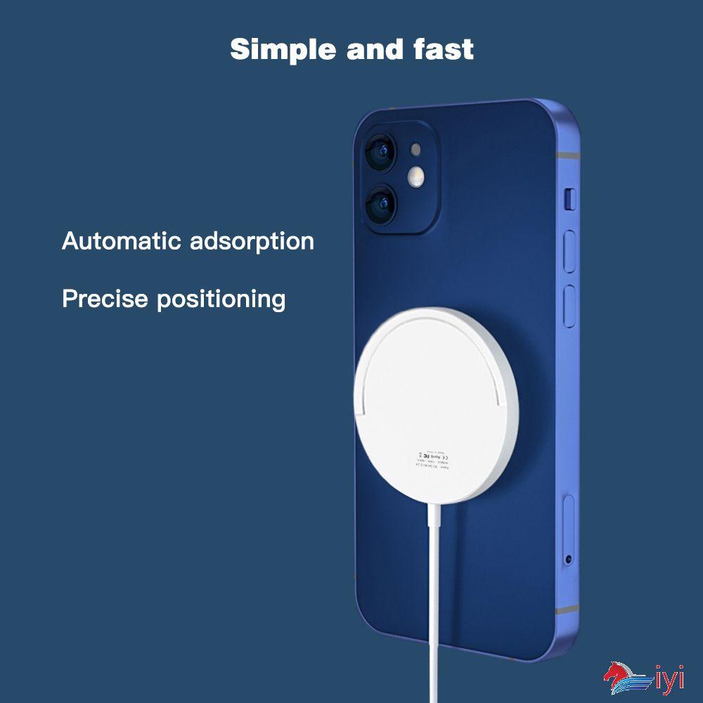 Đế Sạc Không Dây 15w Cho Iphone 12 Pro 12 Mini Samsung Huawei