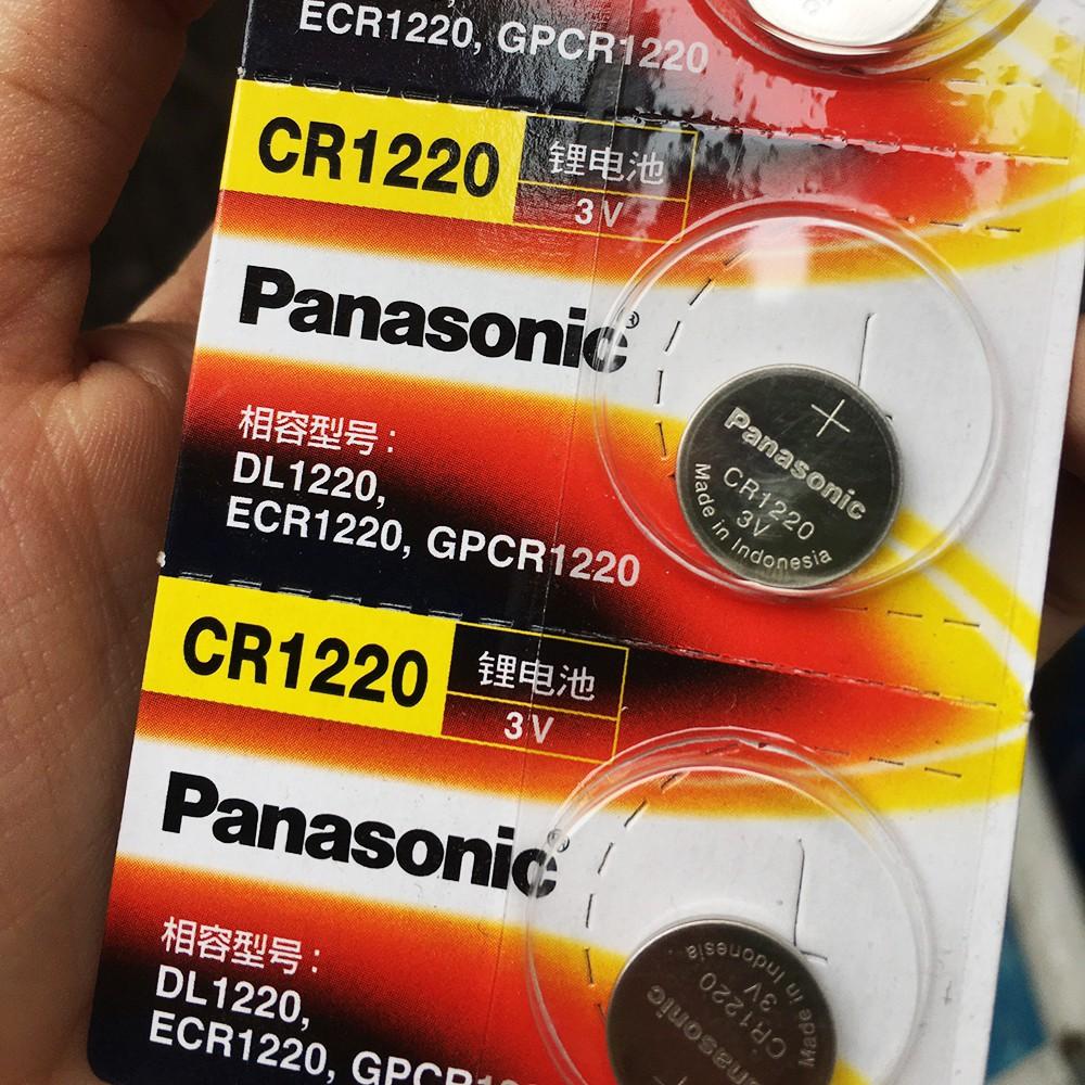 Pin CR1220 Panasonic 3V Lithium Vỉ 1 Viên chính hãng