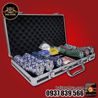 ♠ 300 Chip GEM Poker Cao Cấp Có Số SET C – ĐỘC QUYỀN CHỈ CÓ TẠI MAS STORE♠