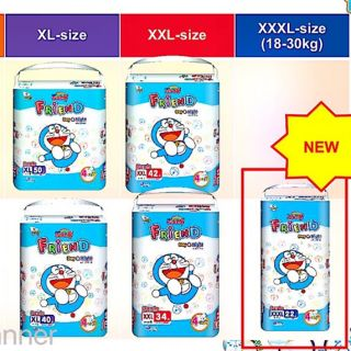 (Mẫu mới) Tã quần Goo.n friend S62 M54 L46 XL40 XXL34 XXL22 thumbnail