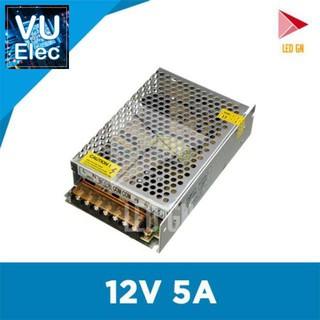 Nguồn 12V 5A – Bộ Chuyển Đổi Điện Áp 220V vể 12V 5A – Chuẩn 80% Cômg Suất