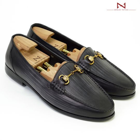 Giày Âu Thủ Công Zenlee patina - Mã: LPX01