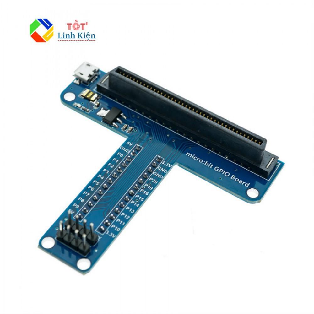 [Mã TOYJAN hoàn 20K xu đơn 50K] Board Mở Rộng GPIO Microbit – Dạng Chữ T, Dùng Với Breadboard