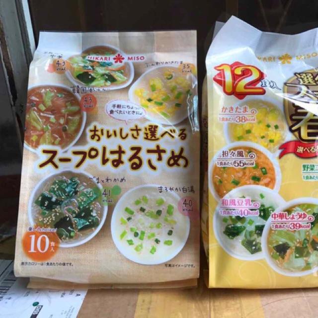 Miến Ăn Liền Nhật Bản 5 Vị Soup Miso
