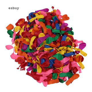 【EY】500Pcs Water Bombs Balloons Outdoor Party Garden Summer Beach DIY Game Fun Toys