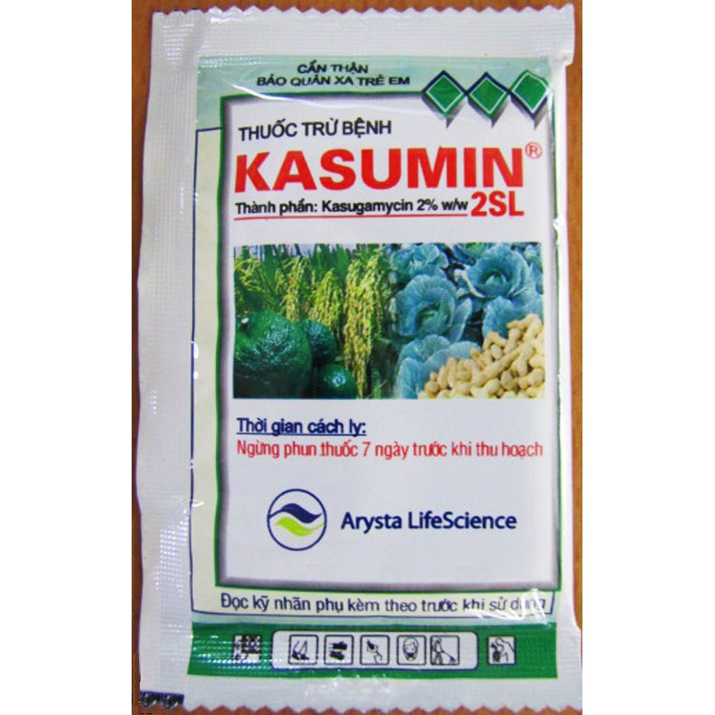 Kasumin 2SL - Thuốc trừ bệnh nấm, đạo ôn, bạc lá, vi khuẩn - 3509866 , 1046674092 , 322_1046674092 , 10000 , Kasumin-2SL-Thuoc-tru-benh-nam-dao-on-bac-la-vi-khuan-322_1046674092 , shopee.vn , Kasumin 2SL - Thuốc trừ bệnh nấm, đạo ôn, bạc lá, vi khuẩn