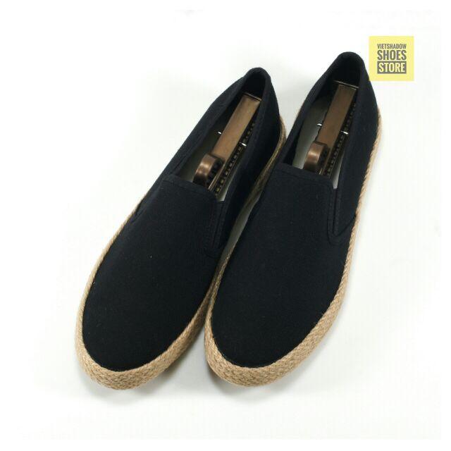 Slip on | giày lười vải nam đế bo đay dáng classic - Mã SP: 7261-đen - 3037477 , 136688750 , 322_136688750 , 235000 , Slip-on-giay-luoi-vai-nam-de-bo-day-dang-classic-Ma-SP-7261-den-322_136688750 , shopee.vn , Slip on | giày lười vải nam đế bo đay dáng classic - Mã SP: 7261-đen