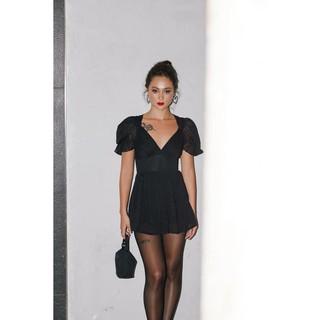 Nene Clothing - Playsuit đen dự tiệc thumbnail