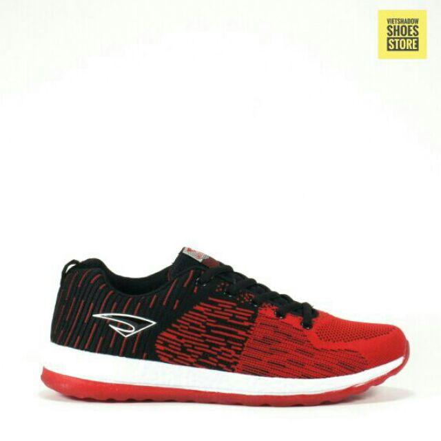Giày thể thao Maoda vải dệt kim 3D màu đỏ/đen - Mã SP: 3537-đỏ