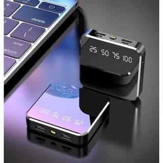 LinhAnh Sạc dự phòng mini hình vuông mẫu mới mặt kính cường lực siêu cứng thumbnail