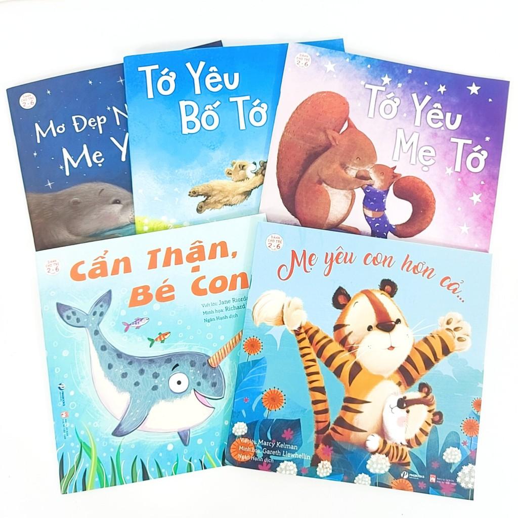 Sách - Tớ yêu 5 cuốn (dành cho bé 2-6 tuổi)