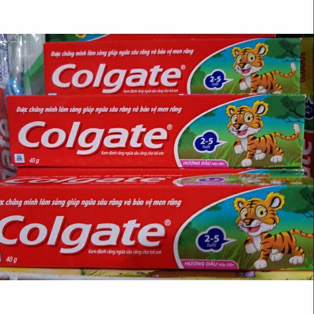 Kem đánh răng colgate ngừa sâu răng trẻ em hương dâu 40g
