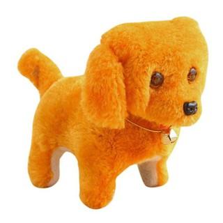 Đồ chơi chú chó vàng biết đi và sủa dùng pin có đèn, dành cho mọi lứa tuổi – Giảm giá sốc
