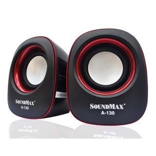 Loa máy tính Soundmax A130 2.0-Hàng chính hãng