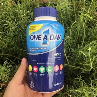One A Day 300v Viên Uống Vitamin Tổng Hợp One A Day Men 300 Viên (Mẫu Mới) - Mỹ thumbnail