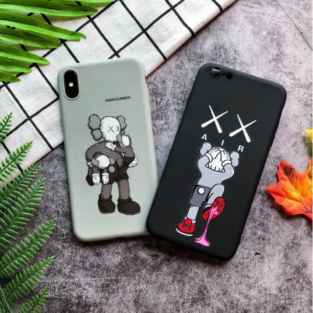 Ốp lưng iphone hình Kaws - Ốp đôi iphone 6 6plus 6s 6splus 7 7plus 8 8plus x xs xsmax