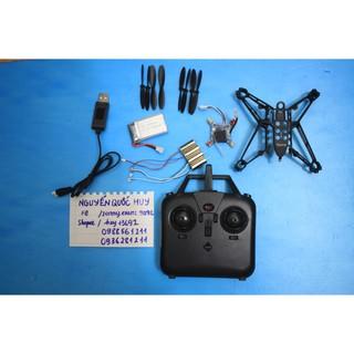 Combo lắp ráp quadcopter motor 8520 siêu khỏe, nhào lộn 360 độ