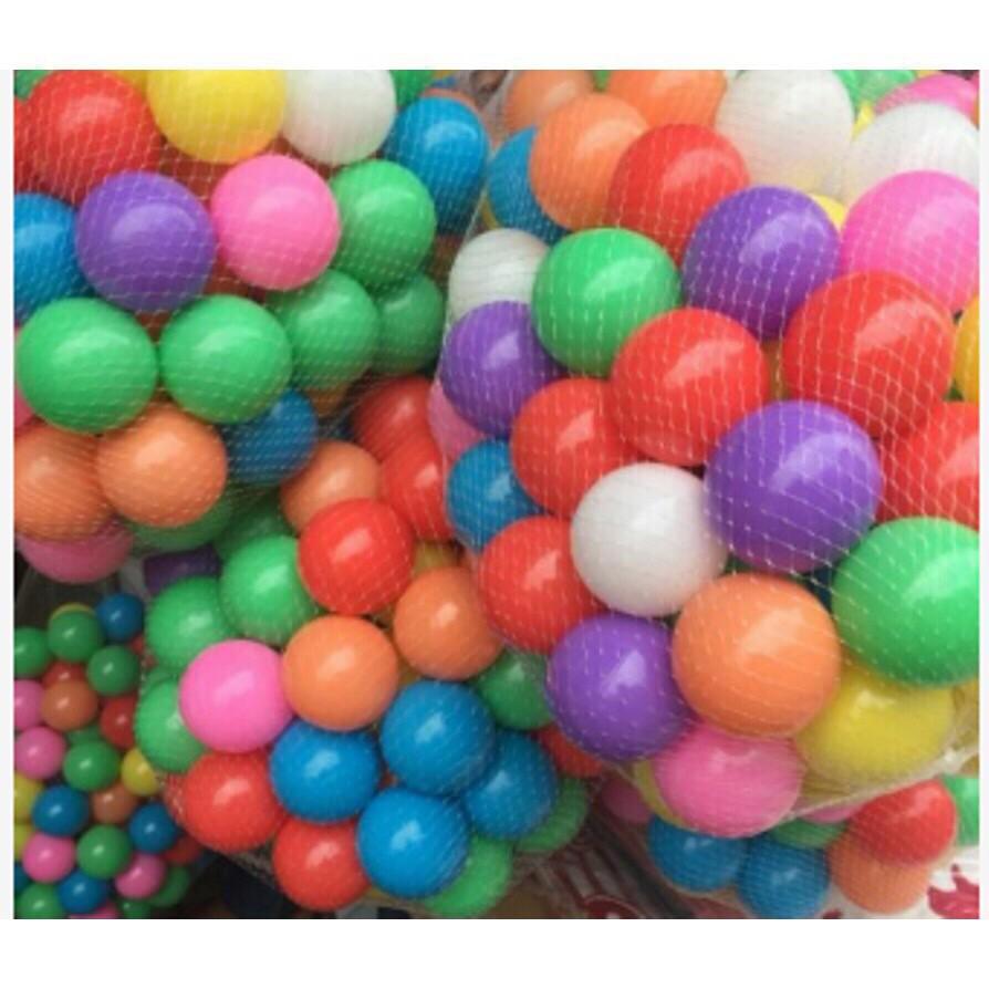 [Giá Sốc] Combo 100 quả bóng nhựa cho bé vui chơi