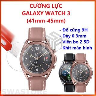 Cường lực đồng hồ Samsung Galaxy Watch 3 41mm và 45mm, SWASTORE thumbnail