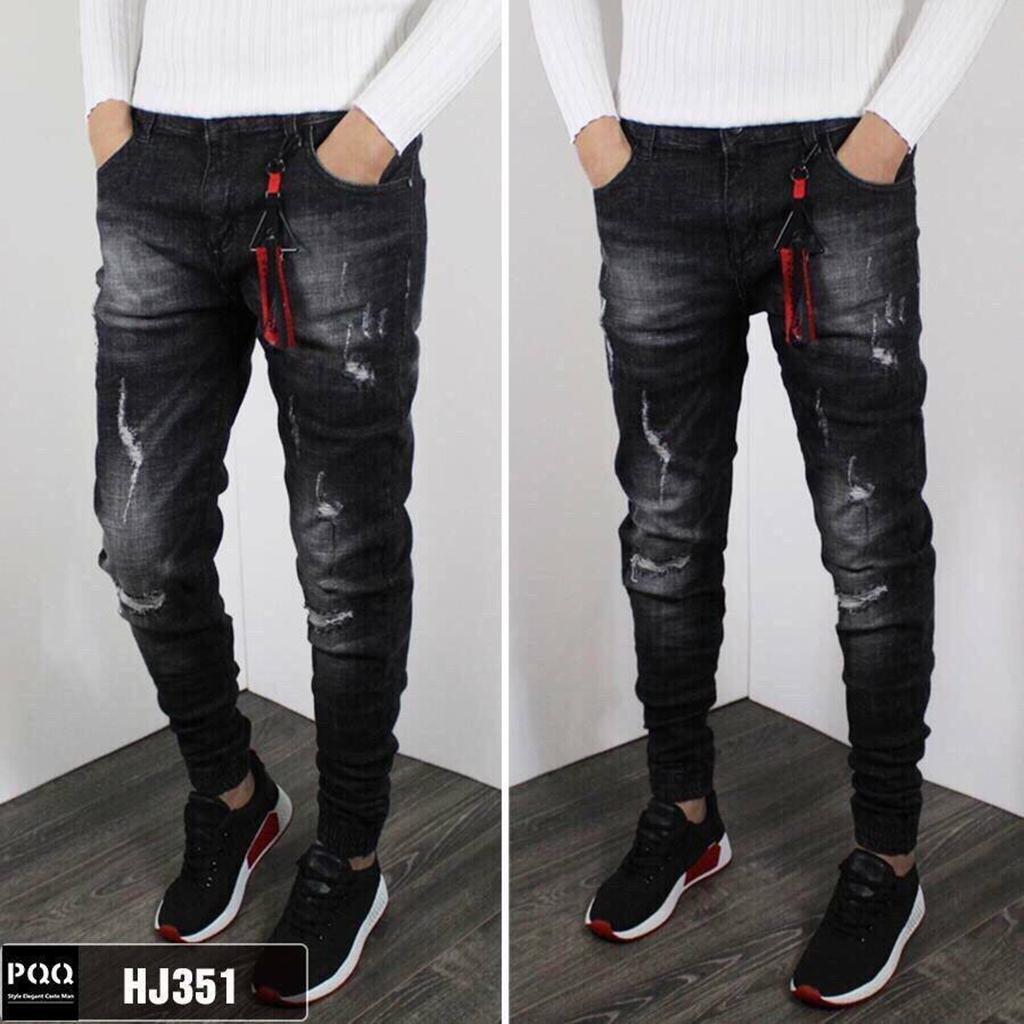 Quần Jeans nam cao cấp phong cách HQ [ ẢNH THẬT]