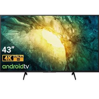 Android Tivi Sony 4K 43 Inch Thiết Kế Viền Đen Tinh Tế 43X7500H