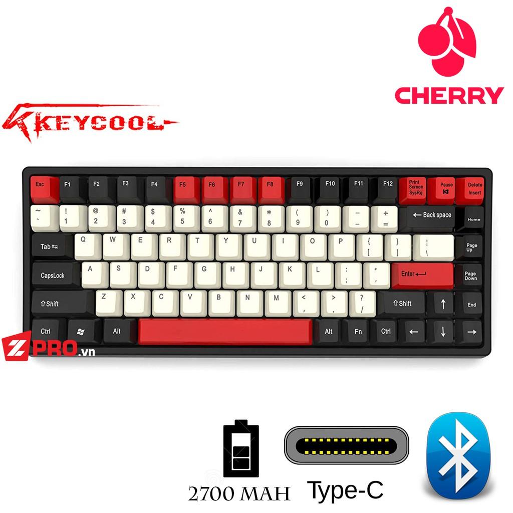 Bàn phím cơ Keycool KC84 Hero (Bluetooth) - BH 1 năm