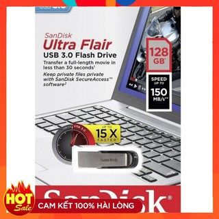 USB San disk ultra Flair CZ73 128GB USB 3.0 150MBs