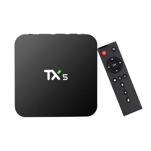 TX5 4K KODI Android 6.0 Marshmallow Amlogic S905X - BH hãng 12 tháng - Hàng nhập khẩu