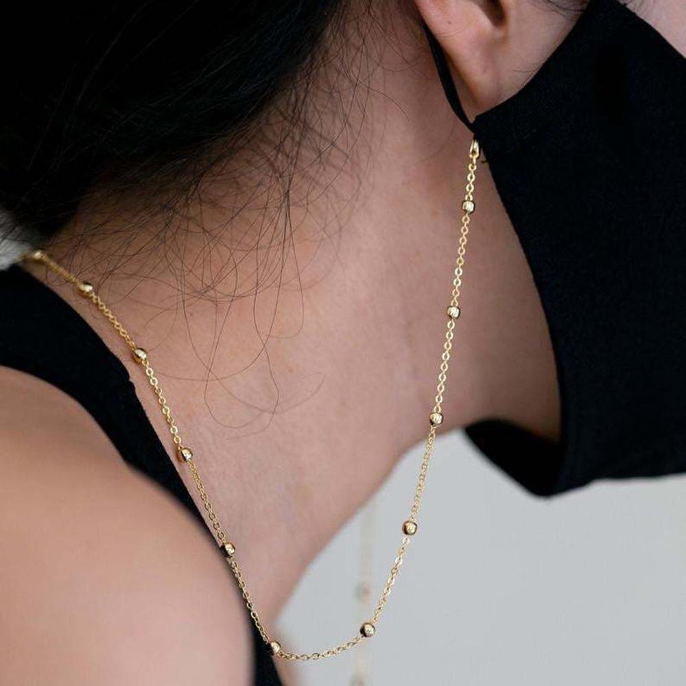 Dây đeo khẩu trang thiết kế lấp lánh hợp thời trang cho nữ