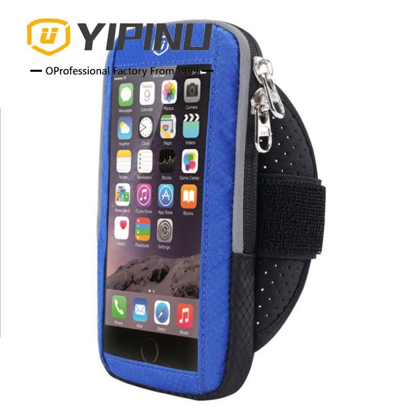 Túi đeo tay đựng điện thoại phản quang chạy bộ YIPINU YA19