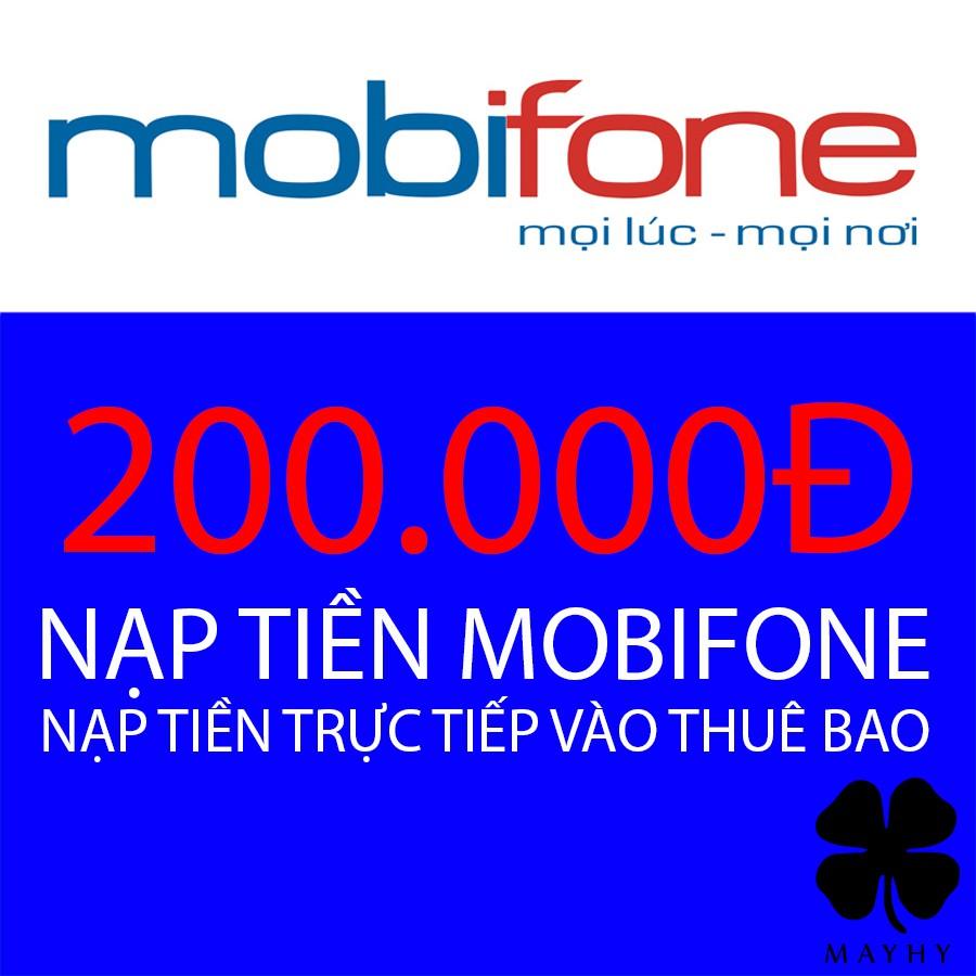Nạp tiền trực tiếp vào thuê bao Mobi mệnh giá 200.000 - 2960527 , 1276412116 , 322_1276412116 , 200000 , Nap-tien-truc-tiep-vao-thue-bao-Mobi-menh-gia-200.000-322_1276412116 , shopee.vn , Nạp tiền trực tiếp vào thuê bao Mobi mệnh giá 200.000