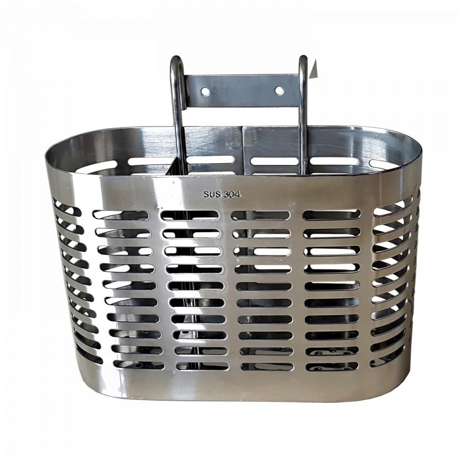 Ống đựng đũa 03 ngăn – Giỏ đựng muỗng đũa 03 ngăn Inox 304 (Nhiều mẫu)