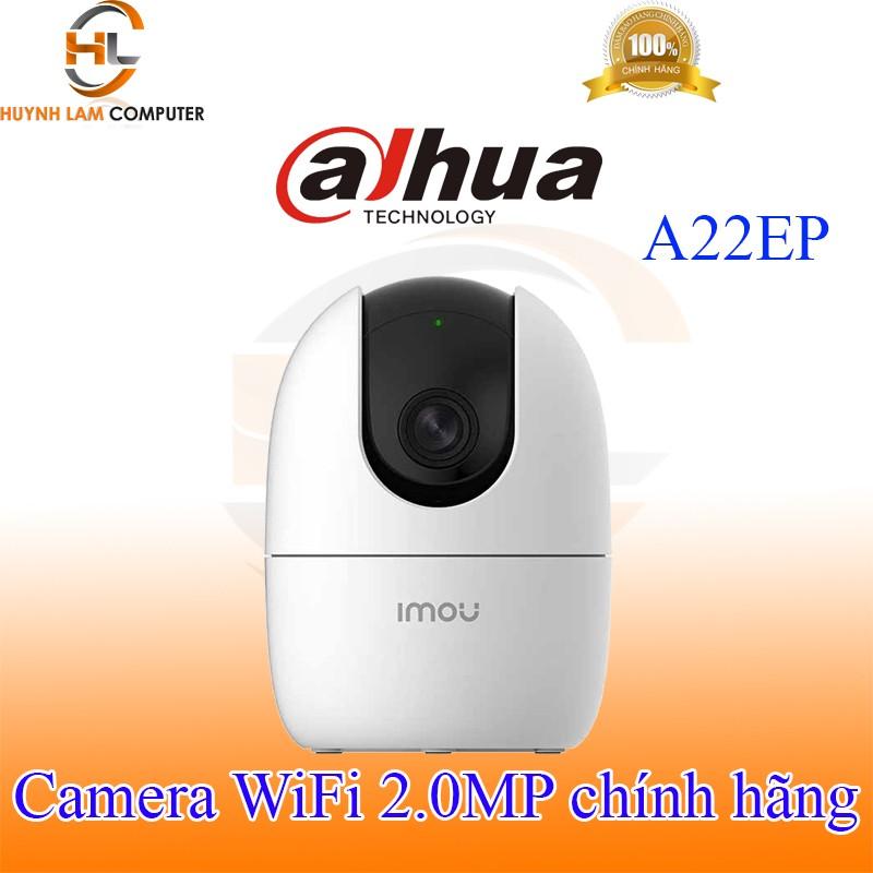 [Mã ELMS4 giảm 7% đơn 500K] Camera WiFi 2.0MP Dahua Imou A22EP FullHD 1920x1080p đàm thoại 2 chiều - Hãng phân phối