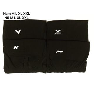 Quần short thể thao nam nữ Yonex, Victor, Li-ning, Mizuno