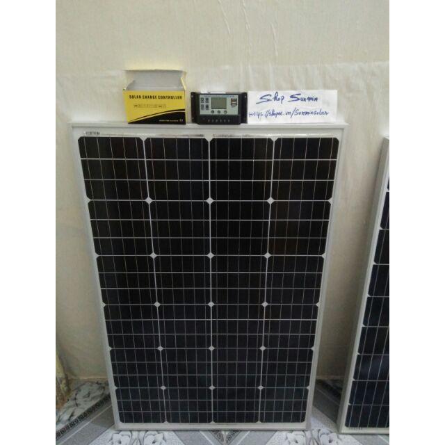 Combo tấm pin mặt trời 110w mono và bộ điều khiển sạc 10A có màn hình LCD - 3301384 , 1324684565 , 322_1324684565 , 1880000 , Combo-tam-pin-mat-troi-110w-mono-va-bo-dieu-khien-sac-10A-co-man-hinh-LCD-322_1324684565 , shopee.vn , Combo tấm pin mặt trời 110w mono và bộ điều khiển sạc 10A có màn hình LCD