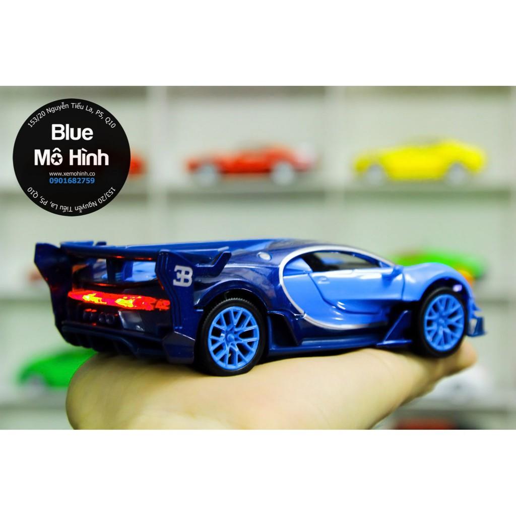 Xe mô hình Bugatti Vision Double Horses 1:32
