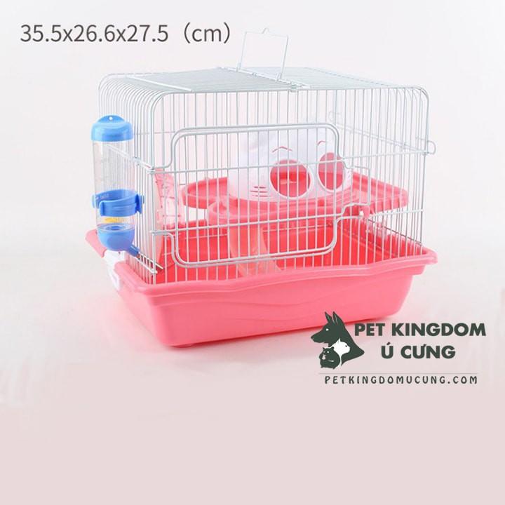 Lồng hamster meo sắt