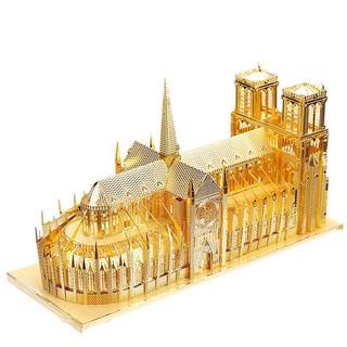 Mô hình lắp ráp kim loại Nhà thờ Đức Bà Paris Pháp Piececool P016-G