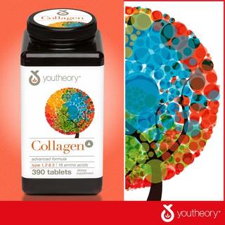 [HÀNG MỸ] Viên Uống Đẹp Da - Chống Lão Hóa Collagen Youtheory - Bổ sung Collagen (Mẫu Mới ) - HỘP 390 Viên thumbnail
